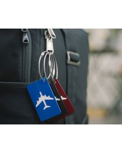 AB 128 - Aluminium Luggage Tag