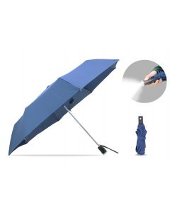 AB16  21'' Tri Fold w/LED Light Umbrella