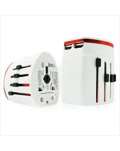 ABBE 008 -  Dual USB Travel Adapter