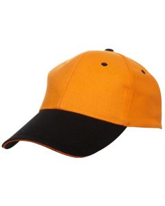 AB C04 - 6 Panels Cap with Colour Visor